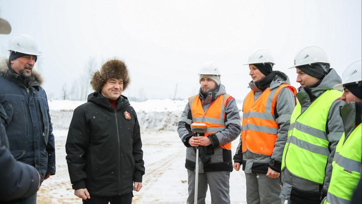 Андрей Воробьев дал старт строительству Северного обхода Лобни