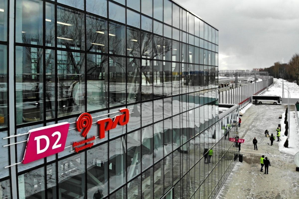 Новую станцию второго Московского центрального диаметра (МЦД-2) Щукинская планируют открыть в июне