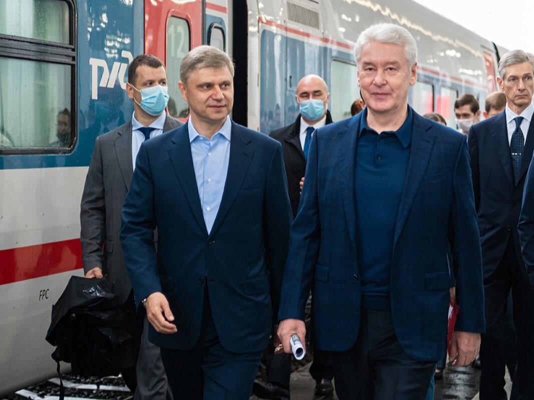 Мэр Москвы Сергей Собянин открыл новый вокзал Восточный для поездов дальнего следования