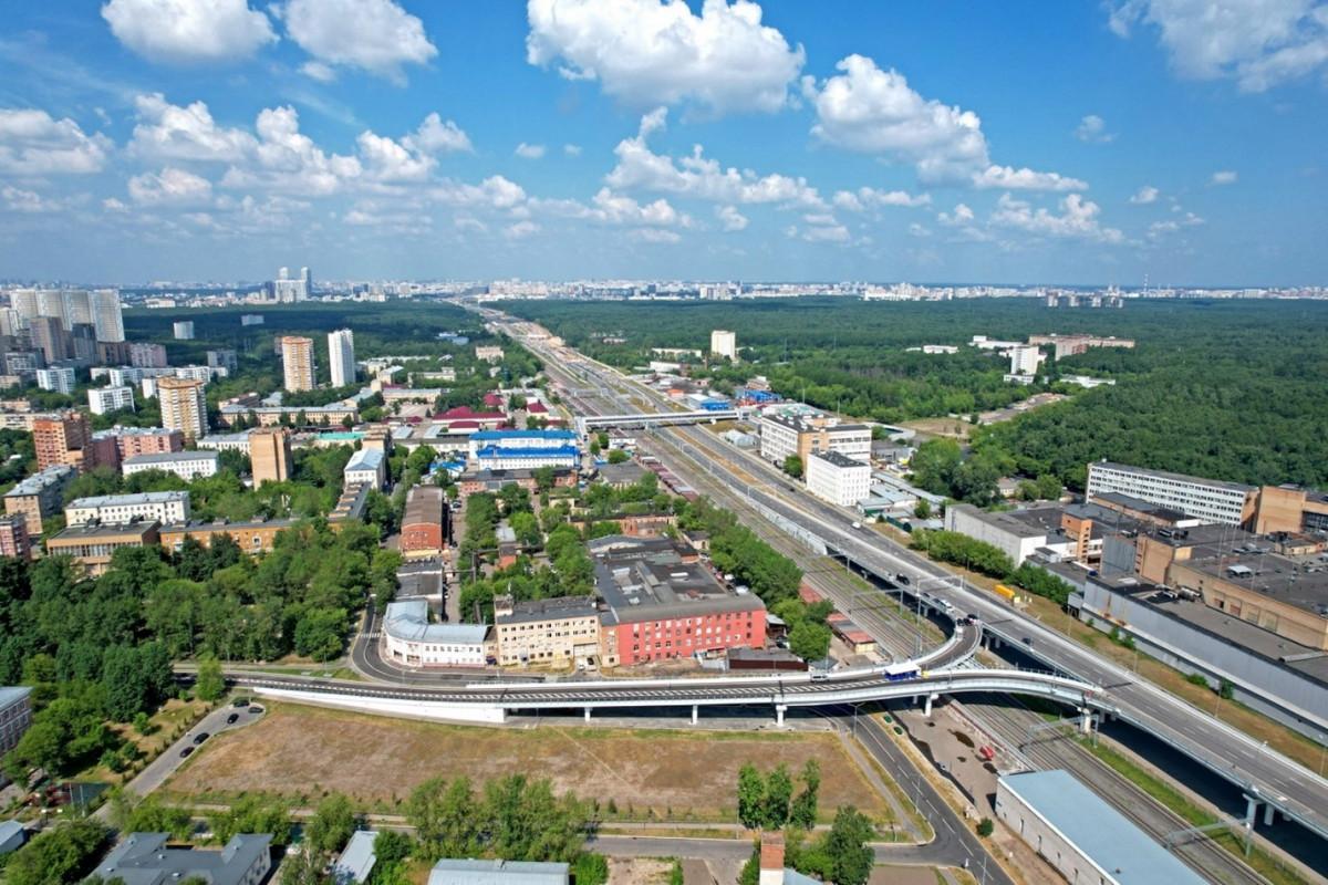 Открыта развязка на пересечении СВХ с 5-м проездом Подбельского и Открытым шоссе