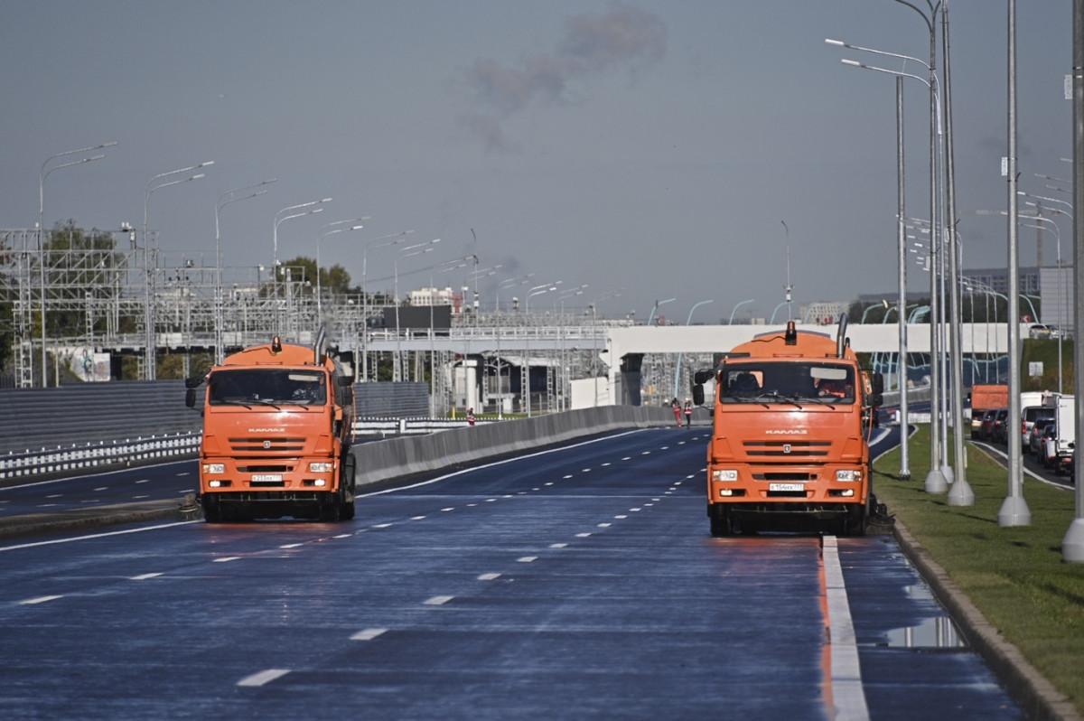 Открыт участок СВХ между Ярославским и Открытым шоссе и развязка с проспектом Мира