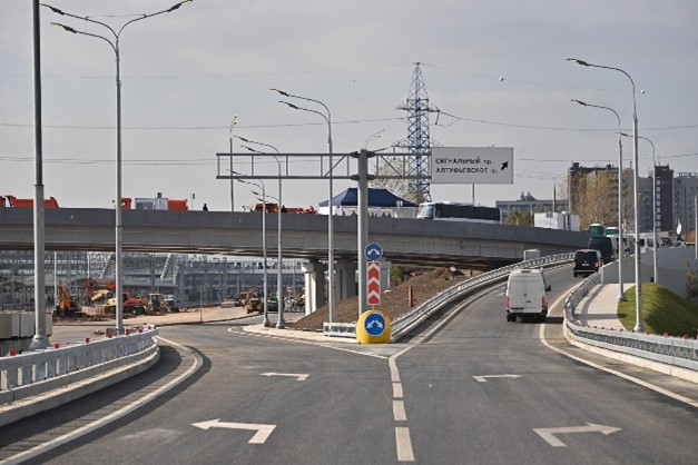 Открыта транспортная связка Северо-Восточной и Северо-Западной хорд
